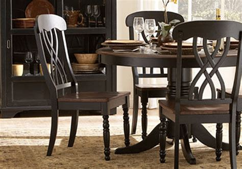 Ohana Dining Table Ohana Black Dining Table And 4 Side Chairs Evansville Overstock Warehouse