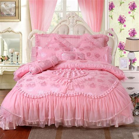 luxurious pink bedding sets fashion wedding bedding