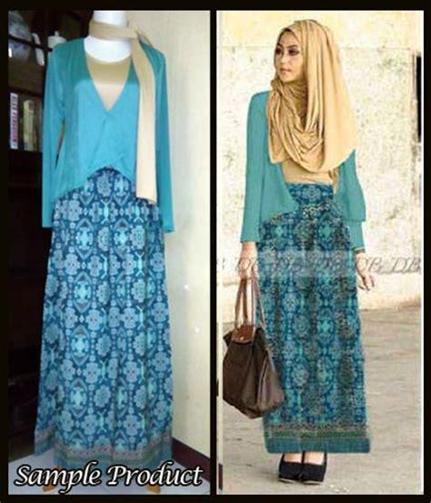 Glitter Tosca Set Gamis Maxi Pesta baju muslim songket minda dhabi g885 busana batik syari