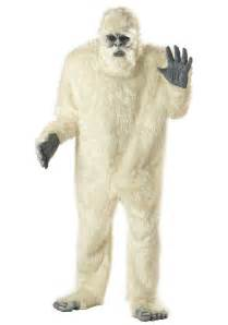 bigfoot halloween costumes for adults yeti costume abominable snowman costumes
