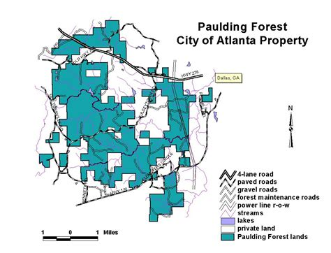 City Of Atlanta Property Records Forestry Commission Forest Management State Forest Management State Managed