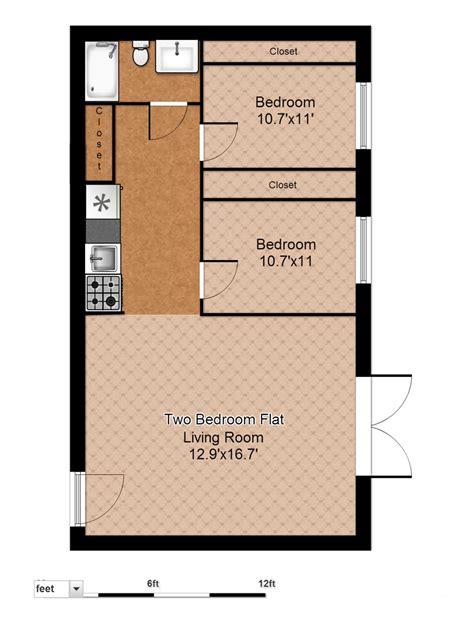floor plan of two bedroom flat floor plans evergreen terrace apartmentsevergreen