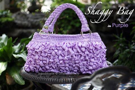 crochet lavender bags pattern free loop stitch shaggy bag in purple free crochet pattern