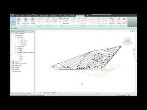 tutorial autocad curvas de nivel revit criar um terreno a partir de curvas de n 237 vel do