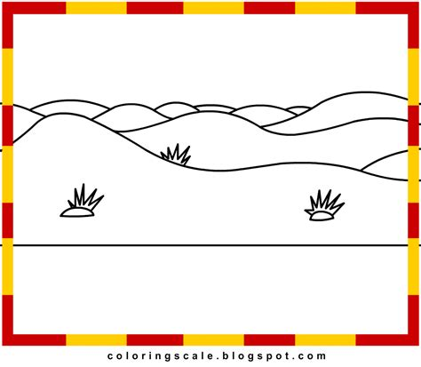 Printable Desert Images | free printable summer coloring pages coloring desert