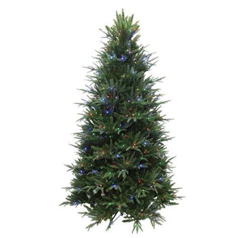 menards small christmas trees 7 5 ft prelit splendor spruce tree at menards for the home spruce