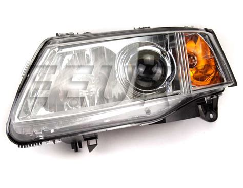 new genuine saab headlight assembly driver side xenon