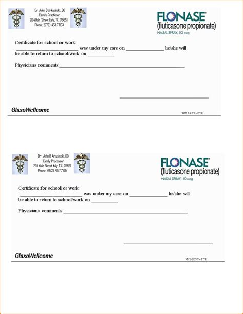 free printable doctors excuse for work 24272510 png loan