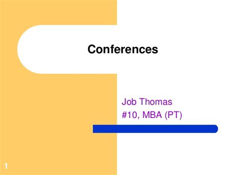 Mba Career Conferences by Conferences And Seminars