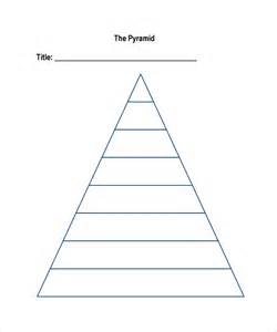 pyramid template doc 585650 pyramid template pyramid box template 15