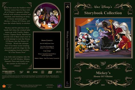 mickey s house of villains mickey s house of villains movie dvd custom covers mickey s villains dvd covers