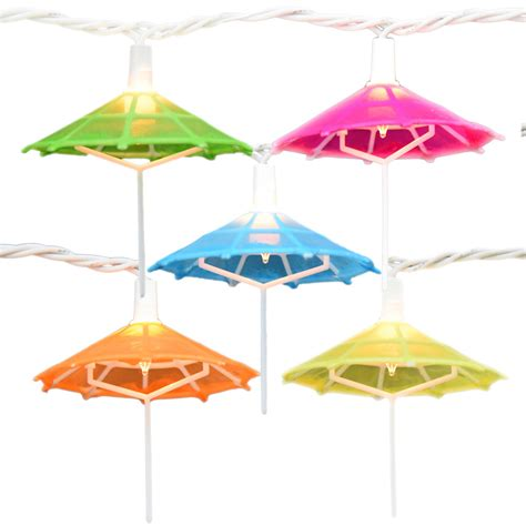 Mini Umbrella Party String Lights 10 Lights Umbrella Light String