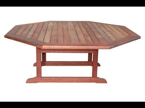 octagon table youtube