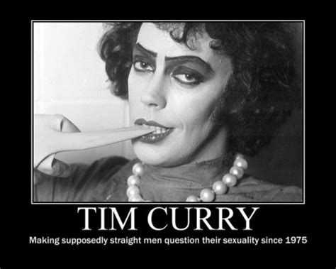 Rocky Horror Meme - the dreams of youth are the regrets of m by tim curry