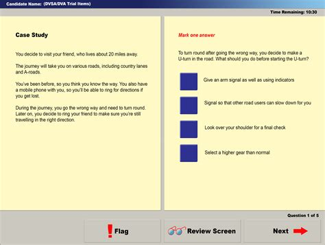 test driving a dvsa theory test studies official driving theory