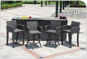 Bar Patio Furniture by Outdoor Patio Furniture Bar Sets Home Designs Wallpapers