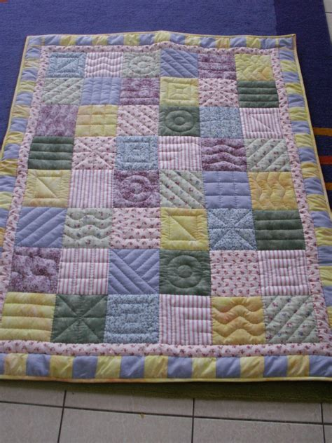Baby Quilts by Pastel Baby Quilt The Purple Giraffes