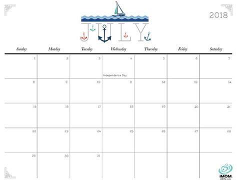 printable calendar imom 2018 july 2018 calendar printable imom journalingsage com