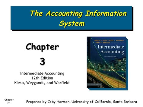 Eccounting Information Systems 1 bab 3 the accounting information system