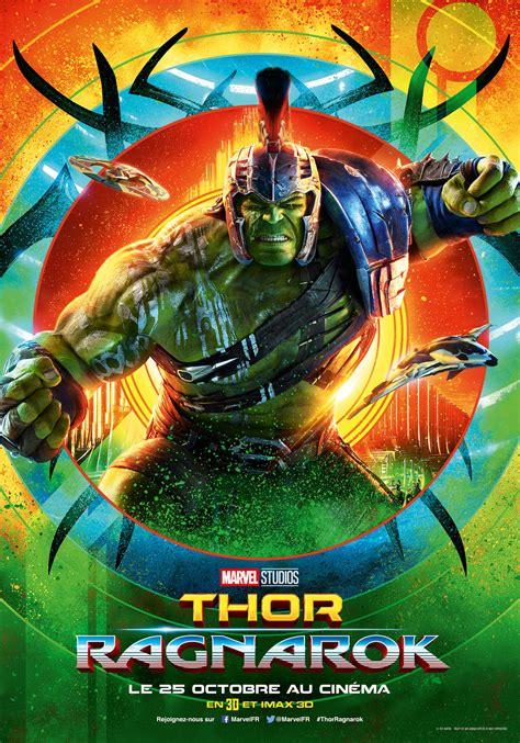 film thor ragnarok adalah affiche du film thor ragnarok affiche 3 sur 14 allocin 233