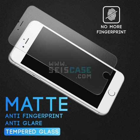 Iphone 6 6s Tempered Glass Matteanti Glareanti Minyak Kaca 1 matte anti fingerprint 2 5d curve 9h tempered glass iphone 5 5s se 6 6s plus 7 8 plus 11street
