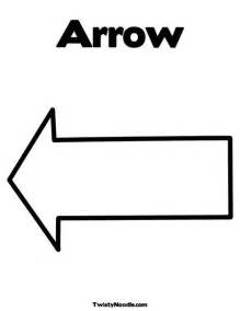 arrow template pin printable arrow template image search results on