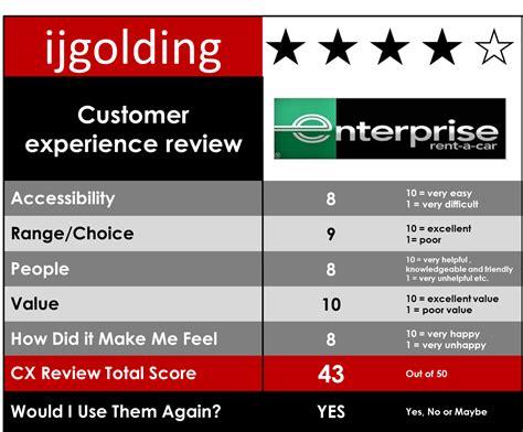 Enterprise Rent A Car Help Desk by Enterprise Rent A Car Customer Experience Review I J