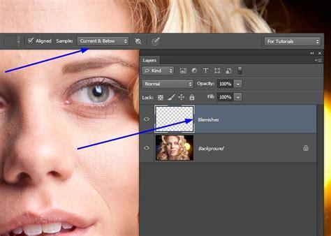 photoshop cs3 healing brush tutorial the healing brush photoshop tutorial tutvid com