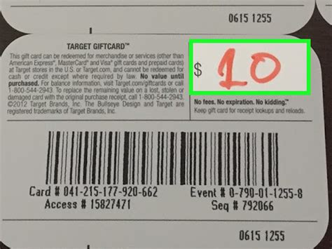 Target Gift Card Balance Online - how to check a target gift card balance 9 steps with pictures