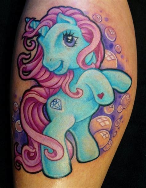 my little pony tattoo designs 30 beautiful pony tattoos