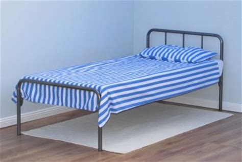 Where Do You Buy A Bed Frame Steel Bed Frame King Metal Bed Frame W Wooden Slats Instamatic Metal Bed Frame The