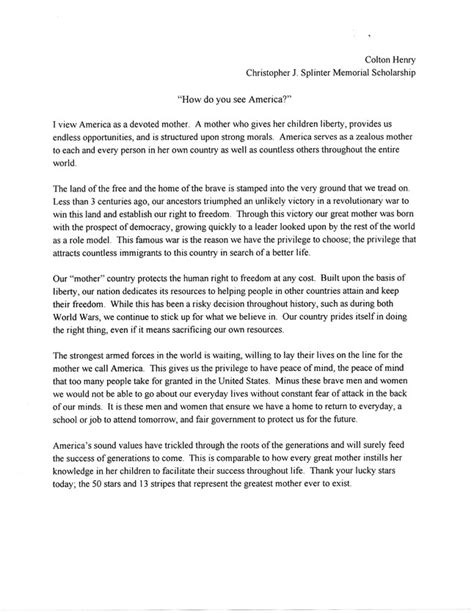 Scholarship Essay Exles Why I Deserve Why I Deserve This Scholarship Essay Scholarship Essay Exles Why You Deserve This You Essay