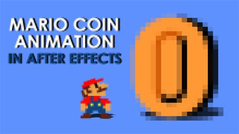 Mario Coin Animation In After Effects Easyaftereffects Net Mario After Effects Template