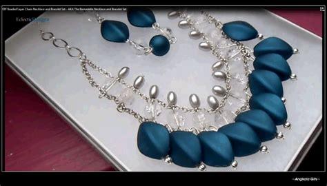 galeri tenun kalung necklace dan macam ragamnnya