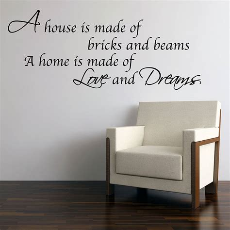 love  dreams home wall stickers  parkins interiors notonthehighstreetcom