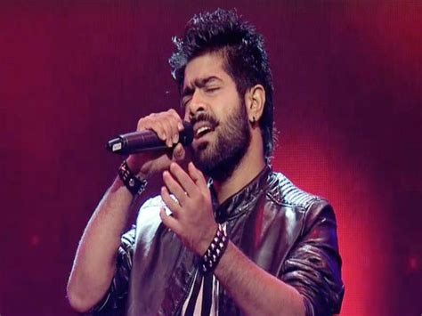 India Idol wow indian idol winner lv revanth signs his