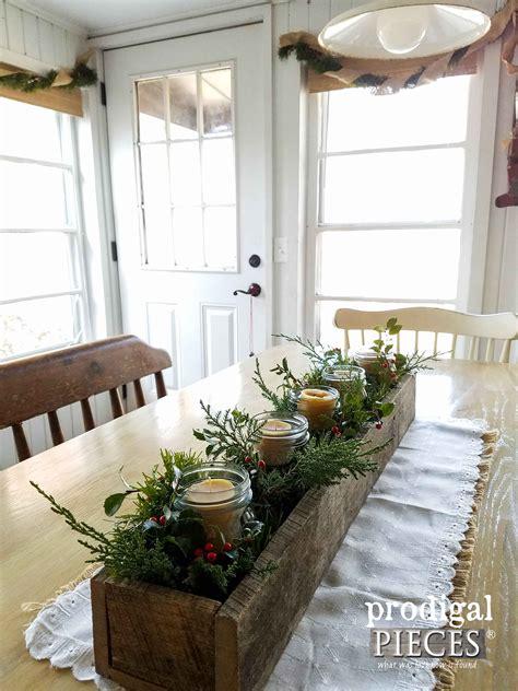 simple christmas decor rustic farmhouse style prodigal
