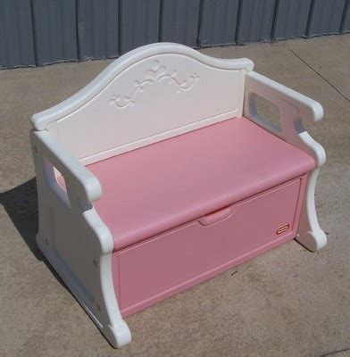 little tikes toy box bench little tikes pink and white victorian toybox bench seat