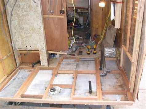 can an rv repair shop remodel the bathroom in rv