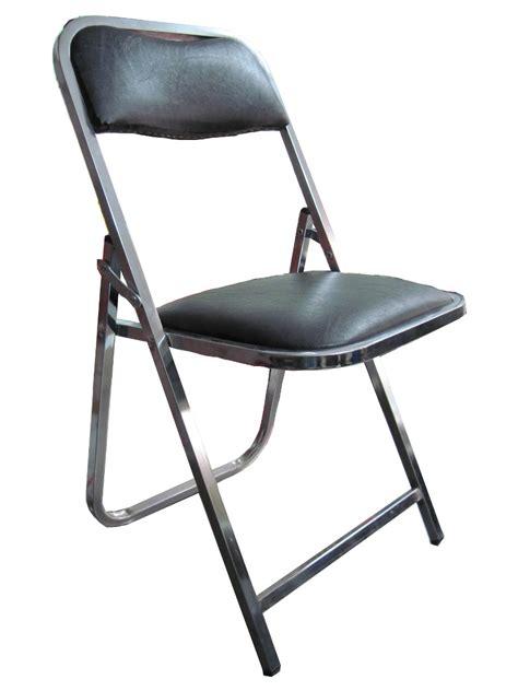 sillas plegables acojinadas silla plegable acojinada cromada ideal renta eventos