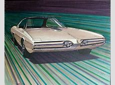 Museum quality 1964 Concept drawing for a 1967 Plymouth Sport Insurance Auto Auctions