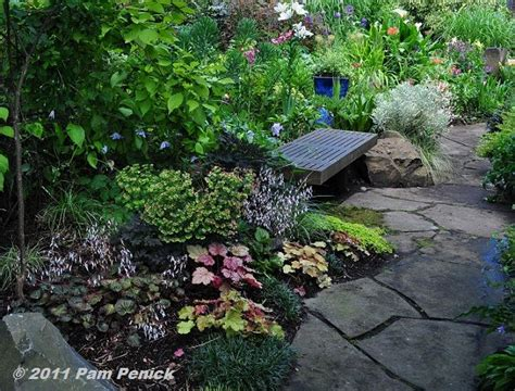 Shady Backyard Ideas Shade Garden Idea Shade Gardens Pinterest Gardens Shade Plants And Walkways