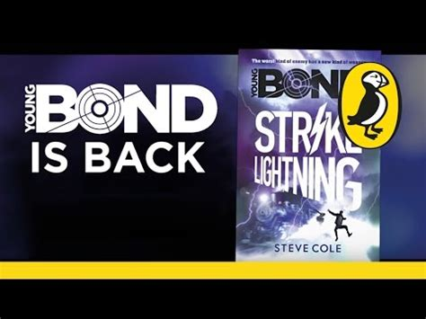 libro young bond strike lightning the book bond young bond strike lightning book trailer