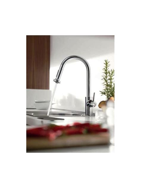 hansgrohe 04247000 chrome talis s pull down kitchen faucet alternate view