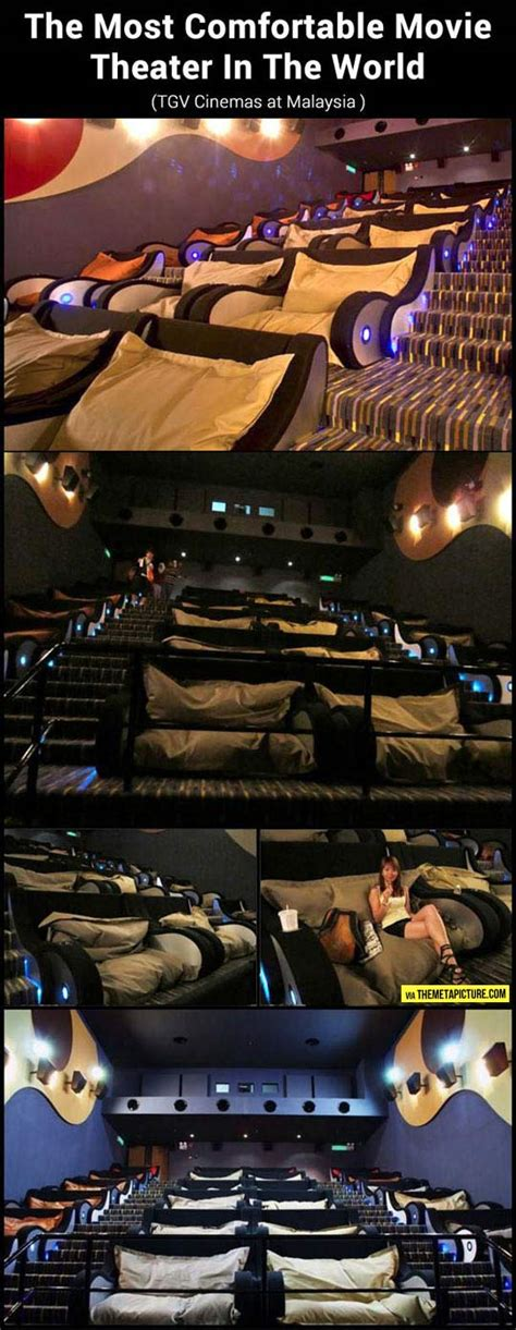 Comfortable Cinemas by The Most Comfortable Theater
