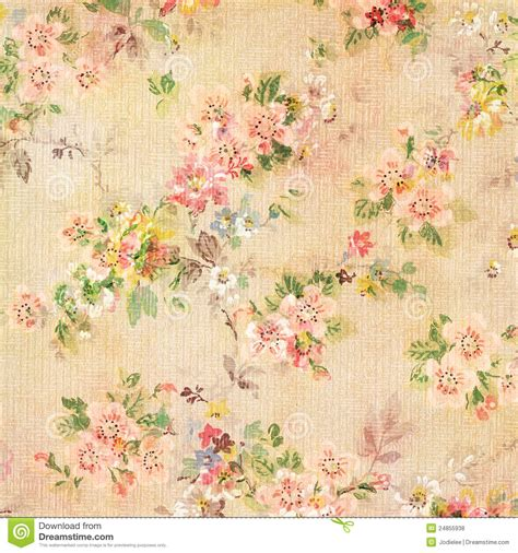shabby chic vintage antique rose floral wallpaper royalty