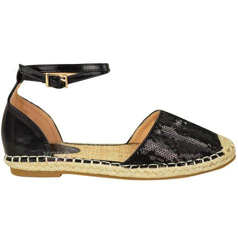 espadrilles shoes new womens summer espadrilles sandals flat ankle