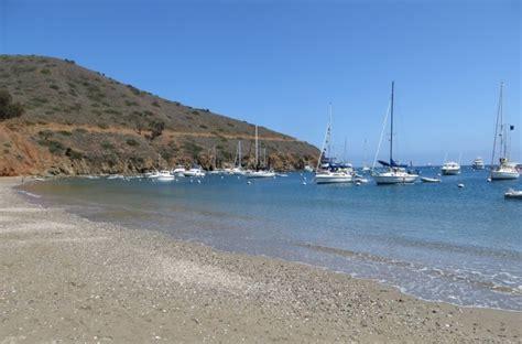 boat to two harbors catalina two harbors beach on catalina island avalon ca