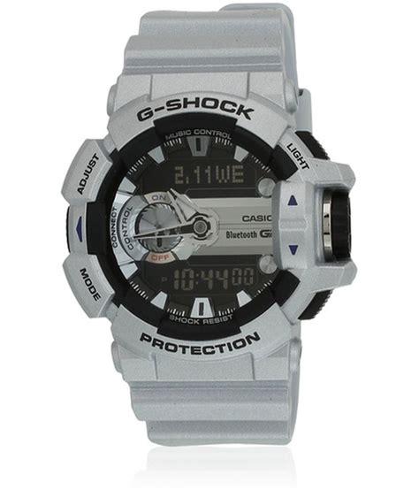 Casio G Shock Gba 400 Grey casio g shock gba 400 8bdr g589 bluetooth s