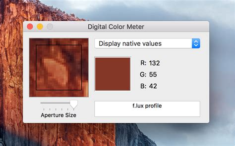 rgb color values finding the rgb or hexadecimal value of any pixel on your
